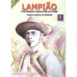 Lampião e sua história contada toda em cordel - Luzeiro